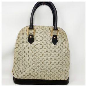 Authentic Louis Vuitton Mini Lin Alma